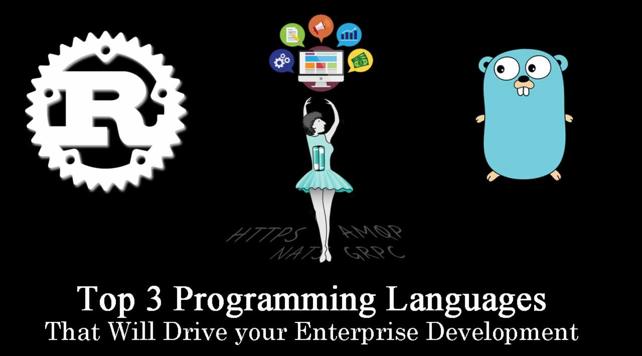 Top 3 Programming Languages That Will Drive your Enterprise Development