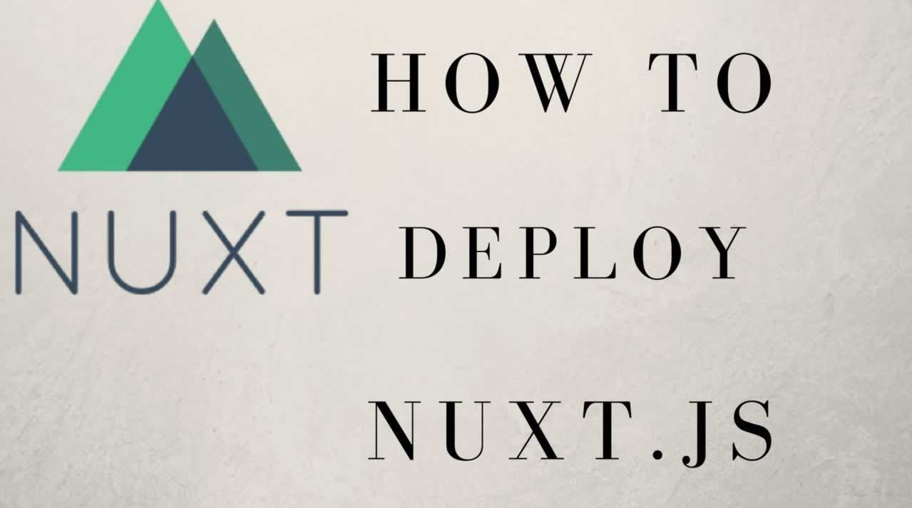 Deploying Nuxt.js SSR Apps To AWS ECS