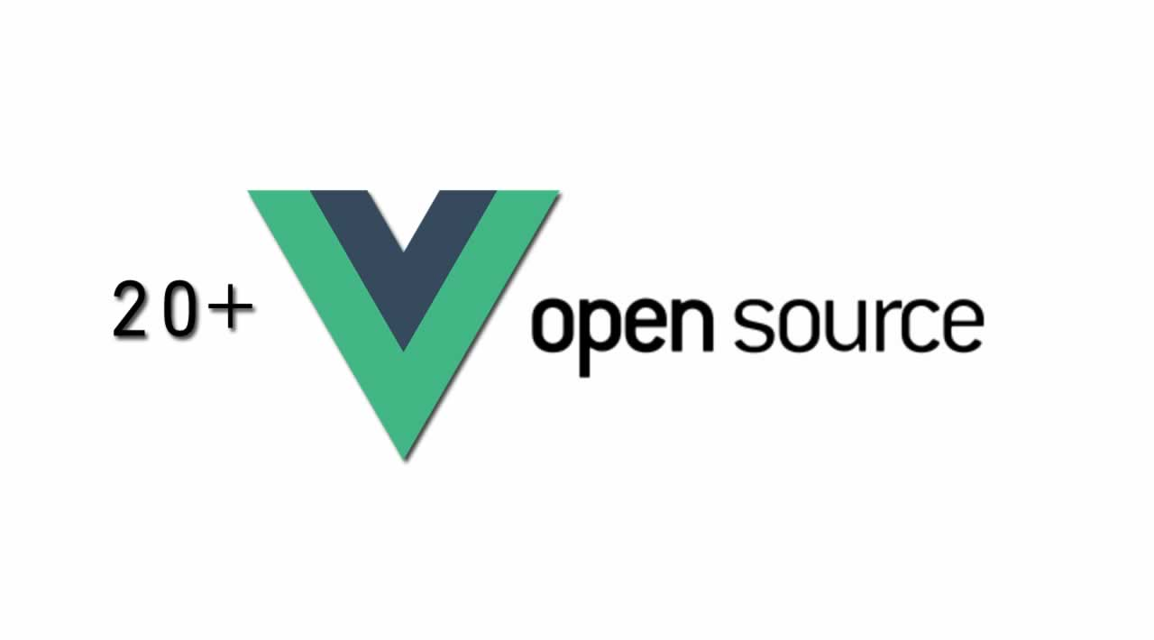 20+ Outstanding Vue.js Open Source Projects