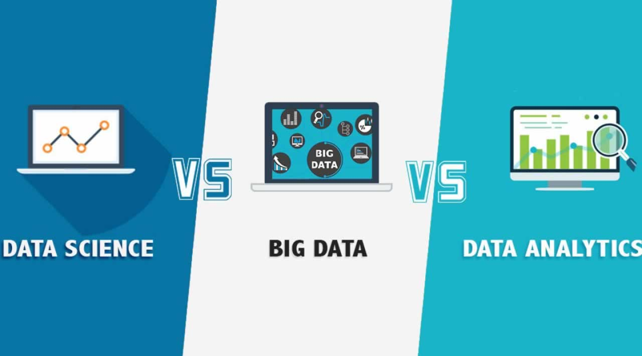 Data Science vs Data Analytics vs Big Data