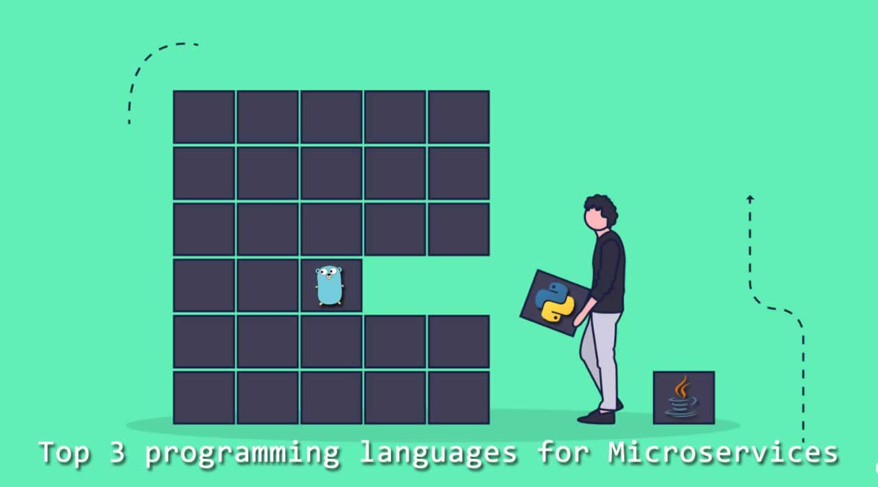 How to writing a microservice in Golang which communicates