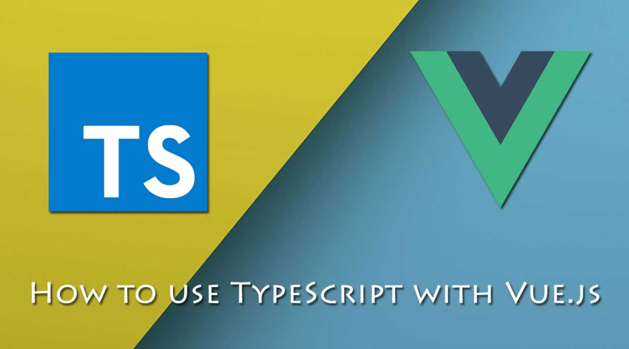How to use TypeScript with Vue.js