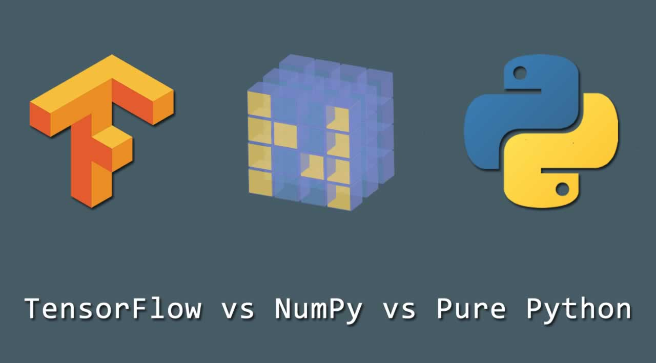 TensorFlow vs NumPy vs Pure Python: Performance Comparison