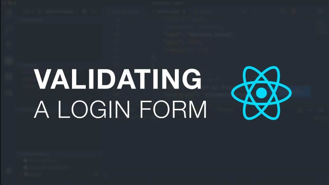 Validating a Login Form With React