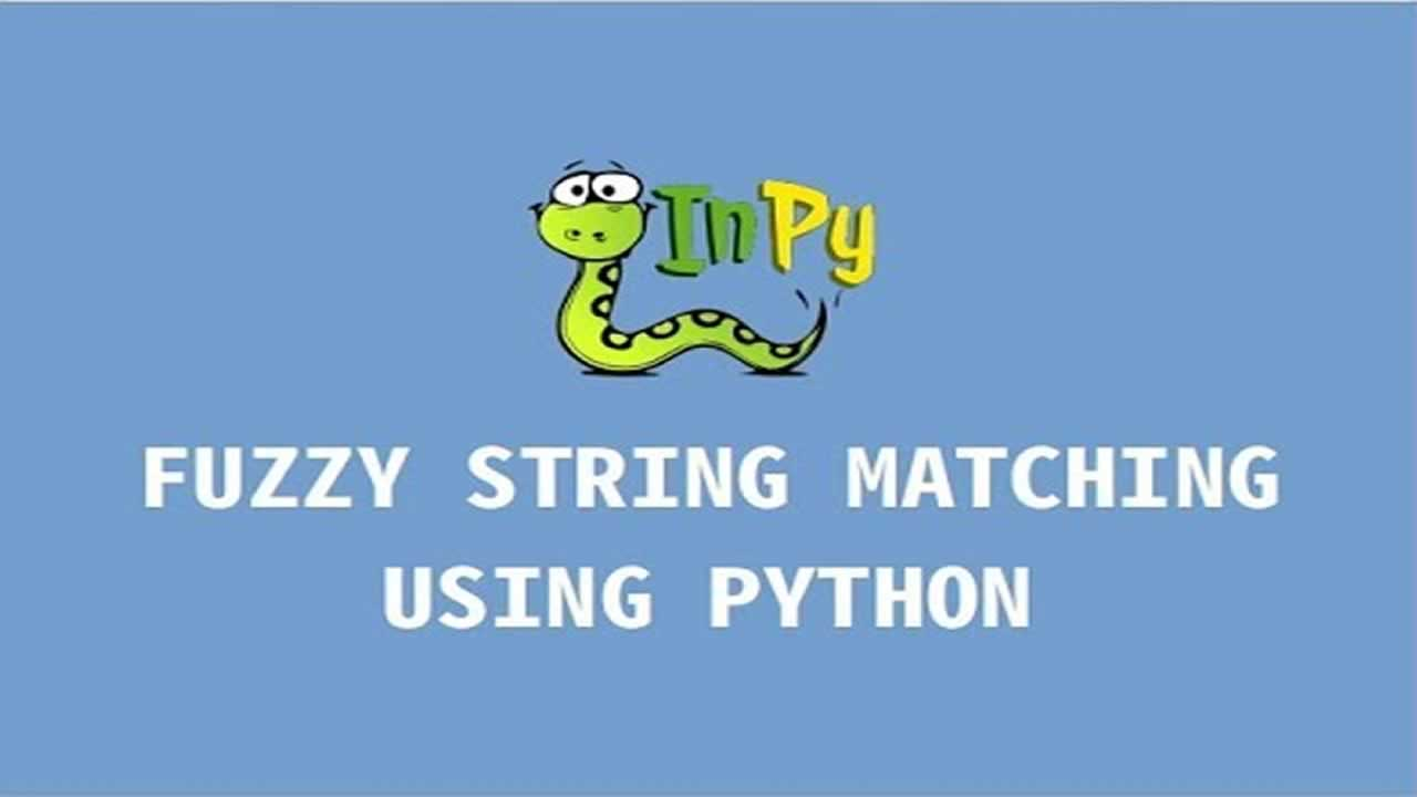 Python Tutorial: Fuzzy Name Matching Algorithms