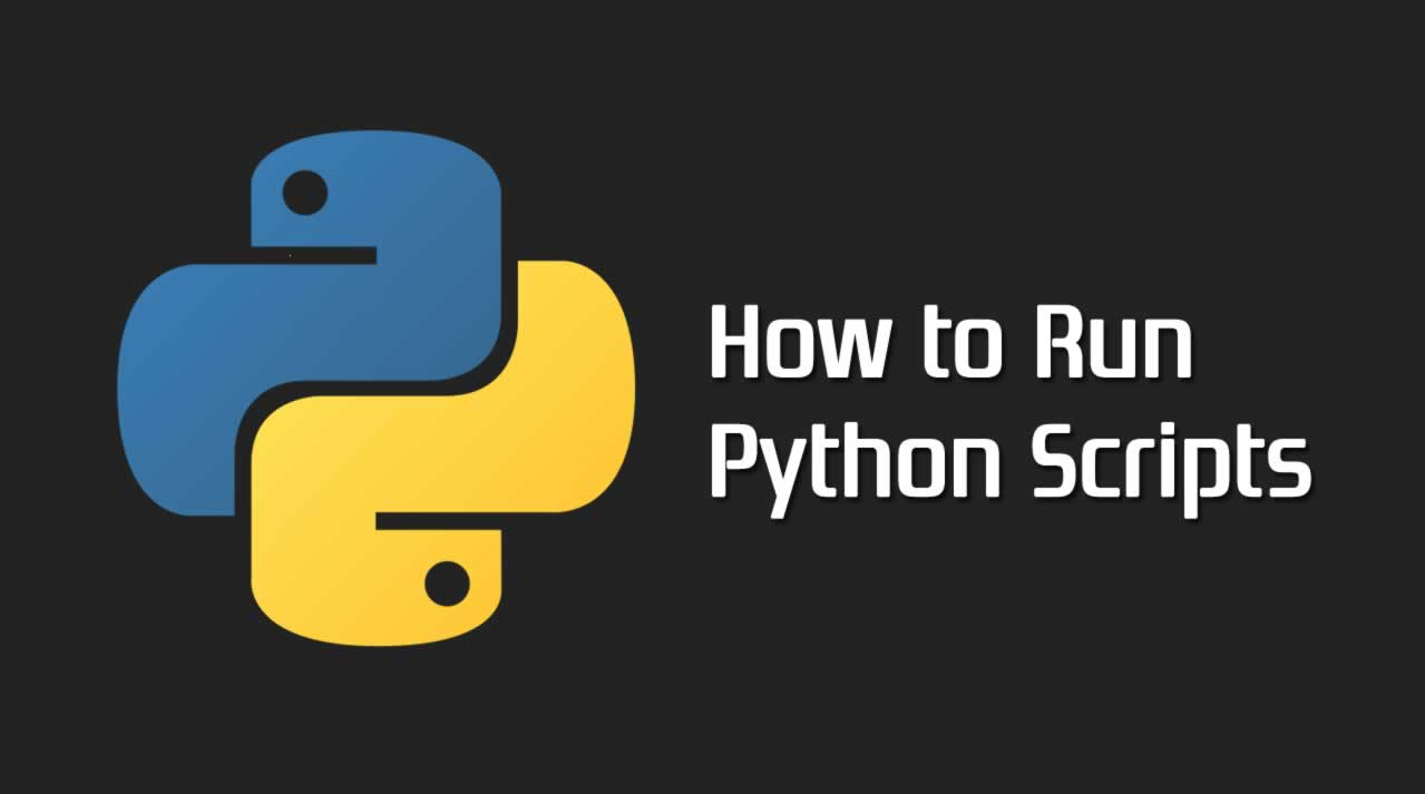 How to Run Python Scripts