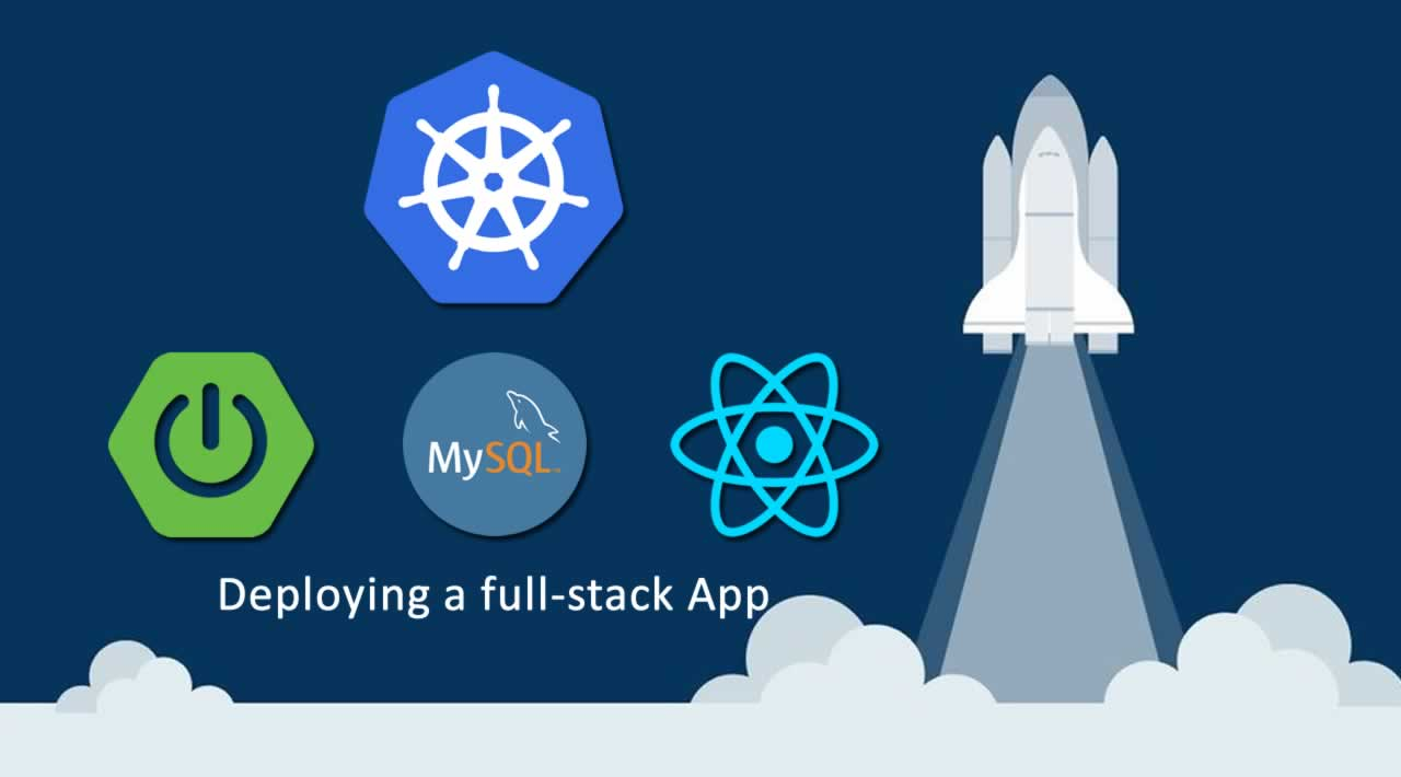 Deploying a full-stack App with Spring Boot, MySQL, React on Kubernetes