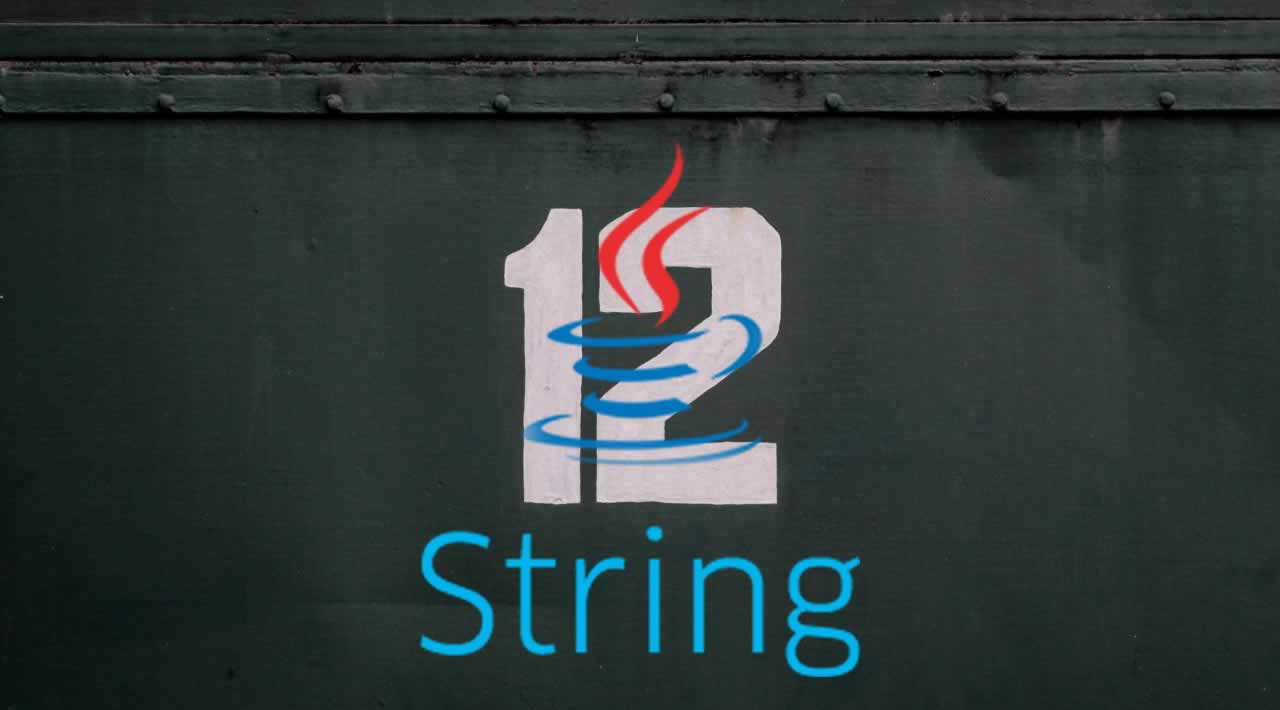 Java 12 String API Updates