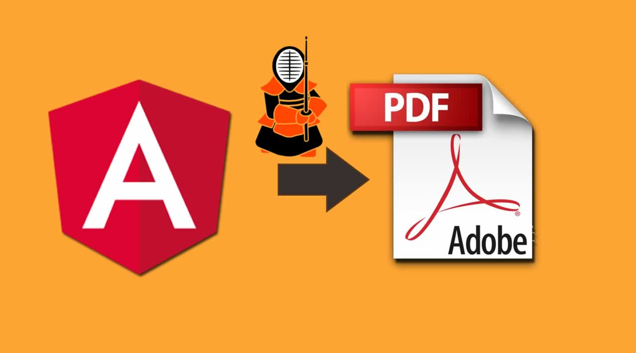 How to export Angular page content to PDF with Kendo UI