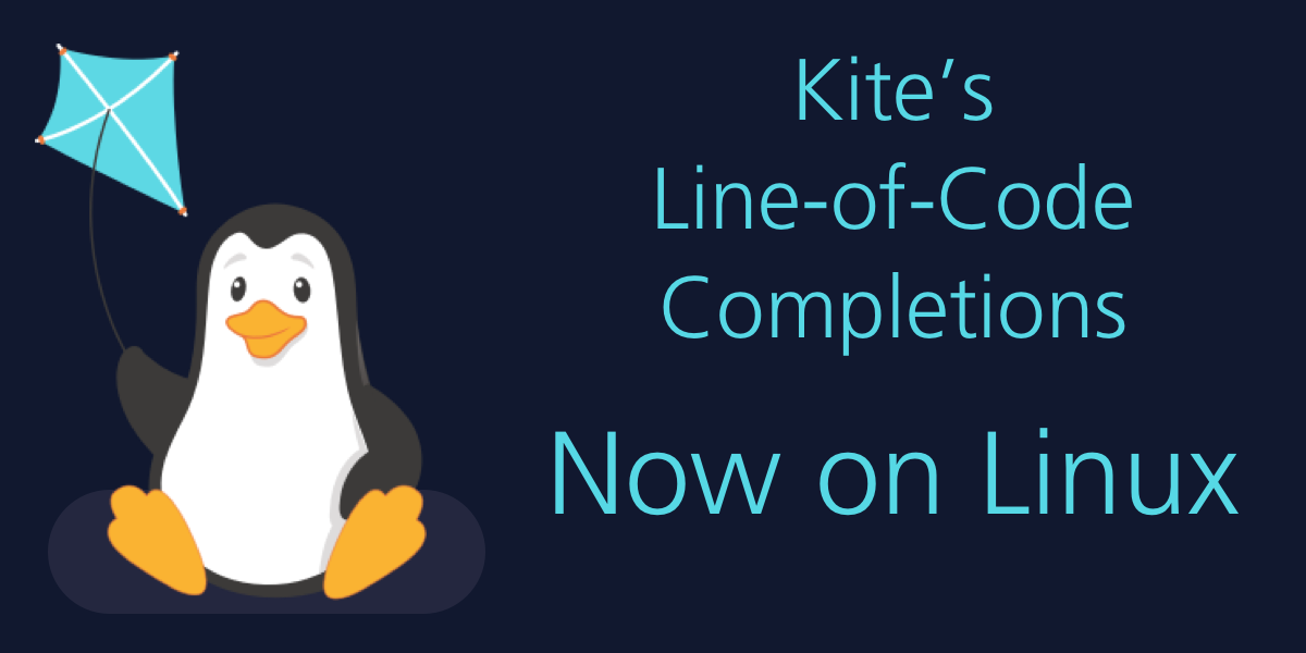 Kite's AI Autocomplete for Python, Now on Linux