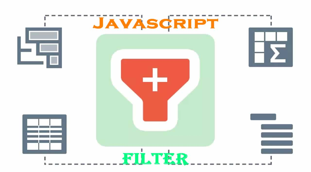 JavaScript Table Filter or Search | How to add Filter In HTML CSS Table