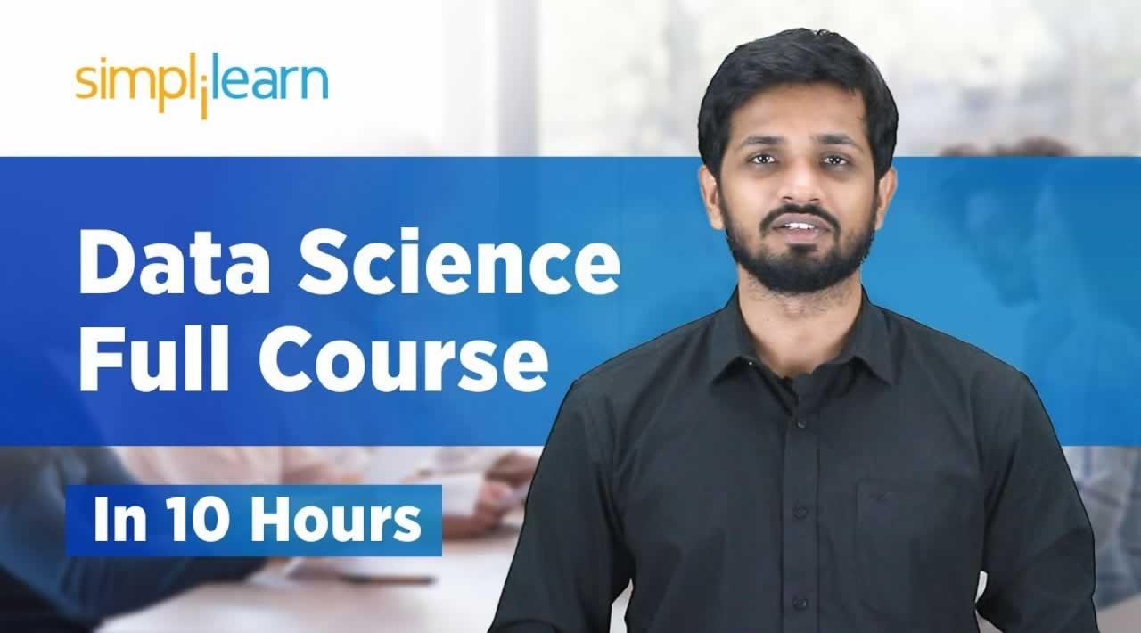 Data Science Full Course - Data Science For Beginners