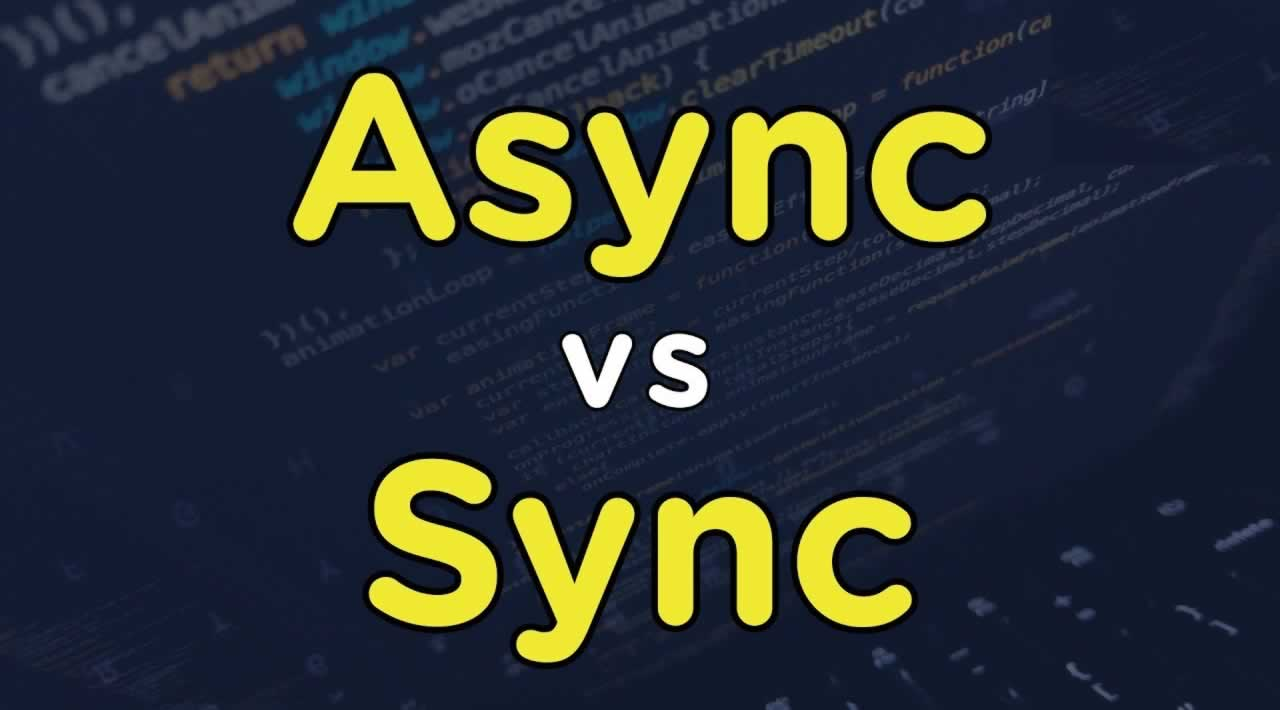 Async vs. Sync Handling Concurrency in JS