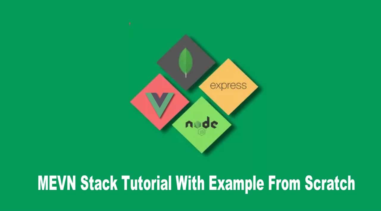 MEVN Stack Tutorial With Example From Scratch