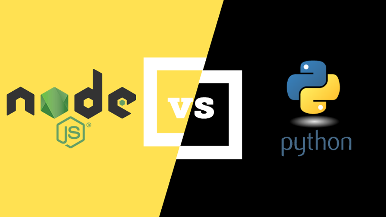 What are the benefits of developing in Node.js vs Python?