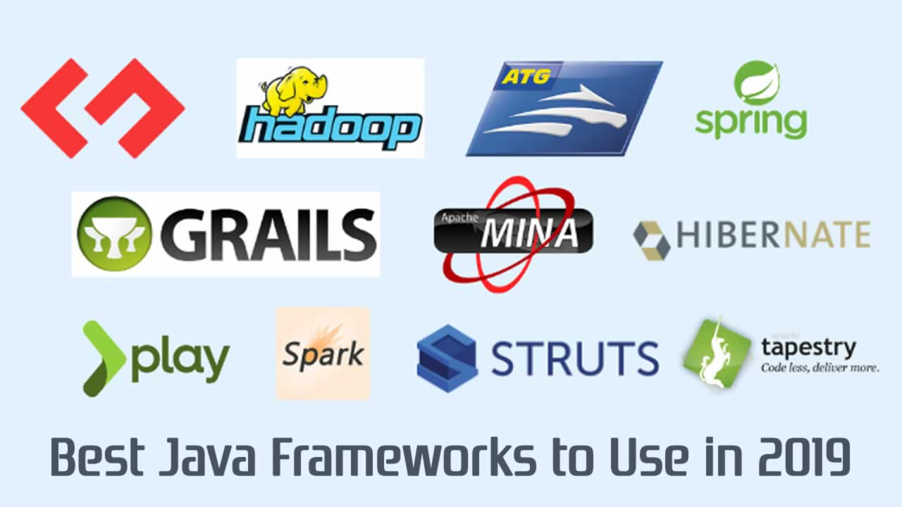 Best Java Frameworks to Use in 2019