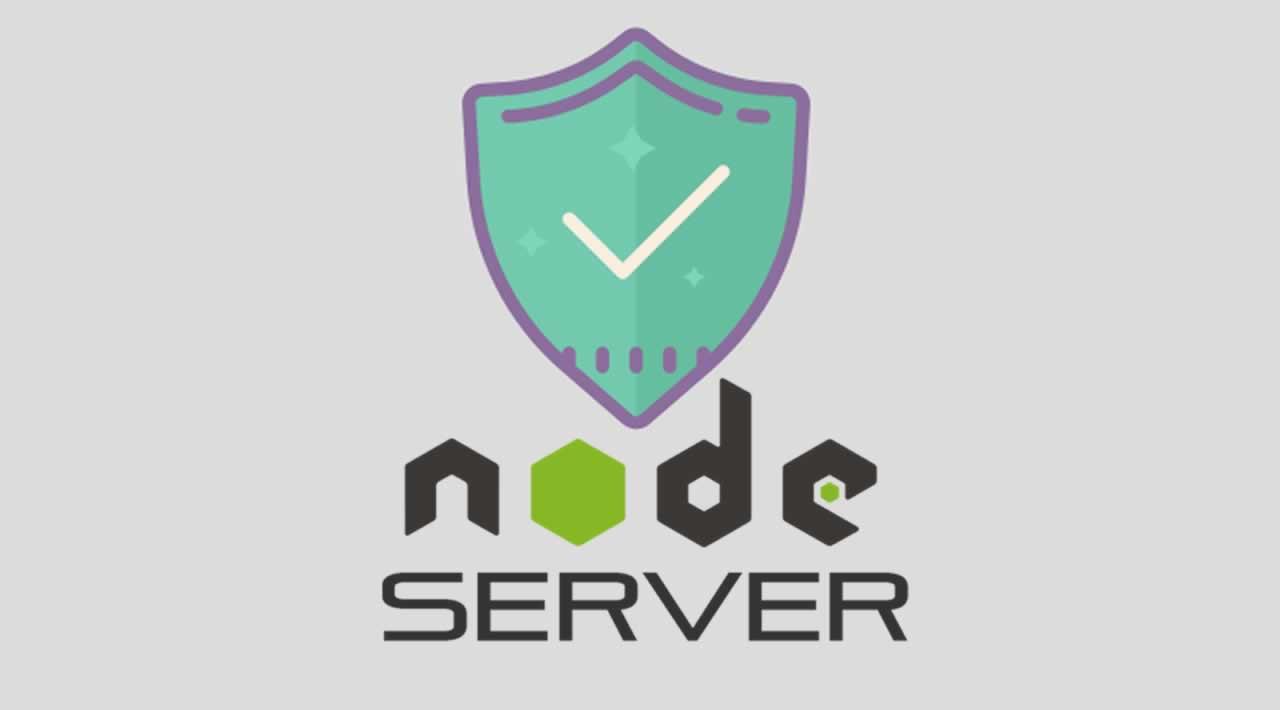 Building a simple security model for Node server.