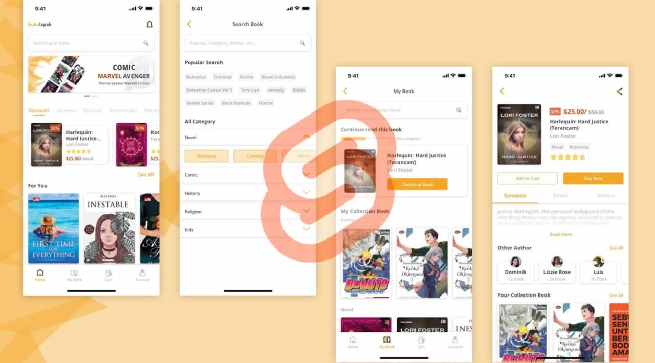 Building a Bookstore App with Svelte