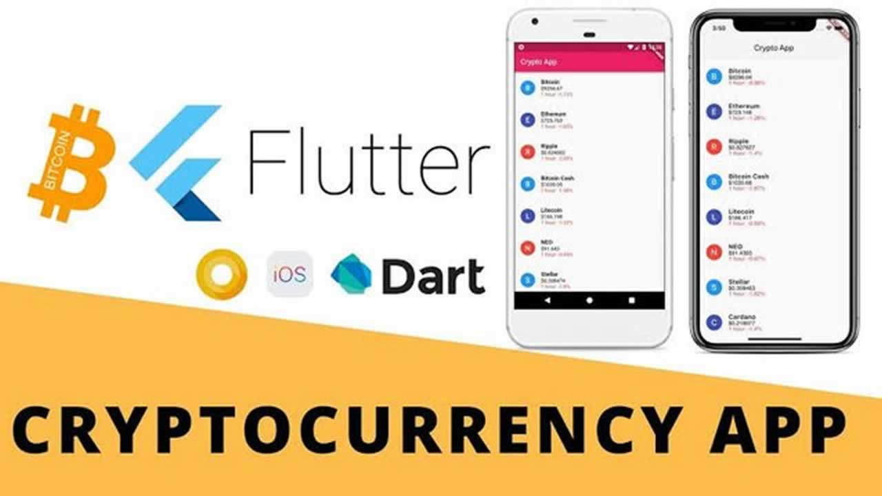 Building Cryptocurrency Pricing App with Flutter