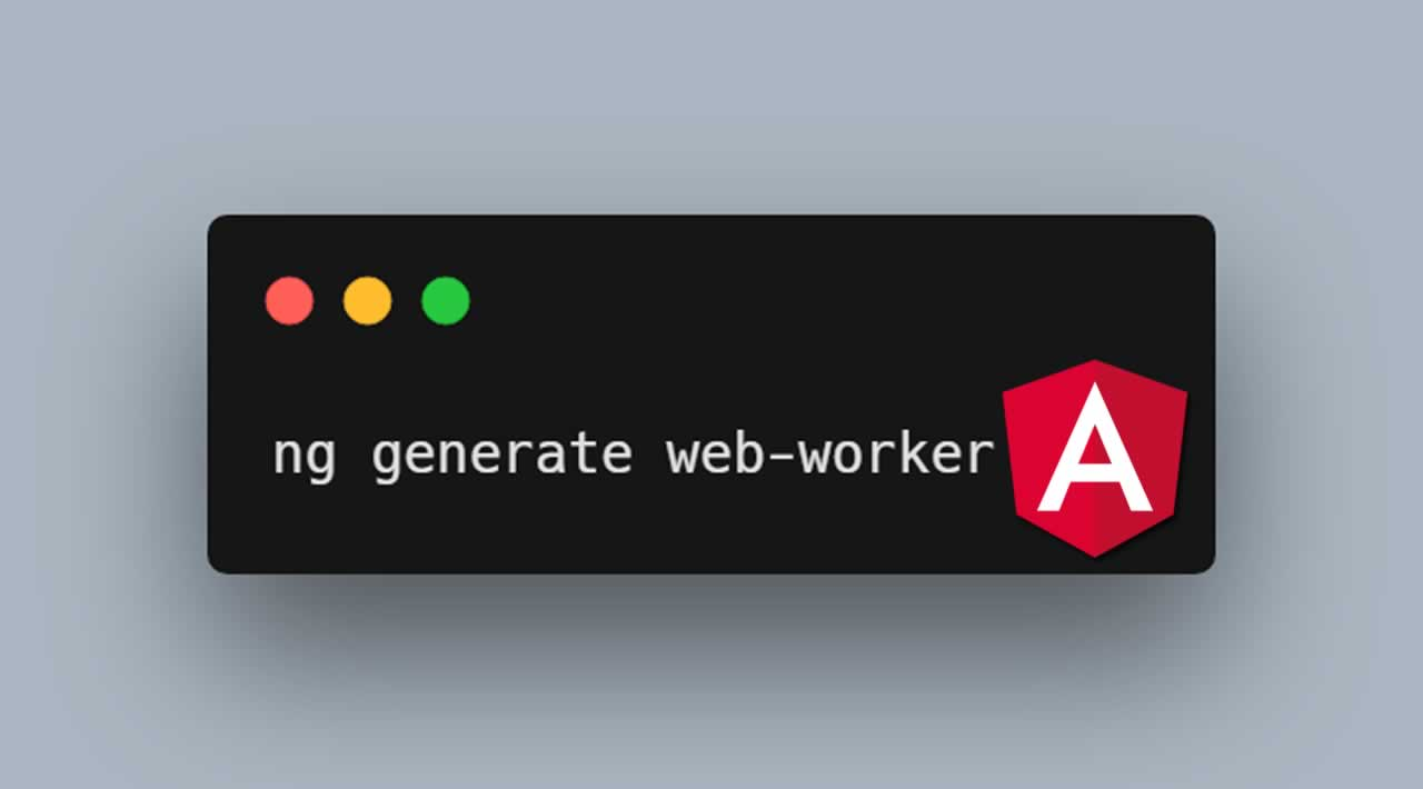 How to use Web Workers in Angular app