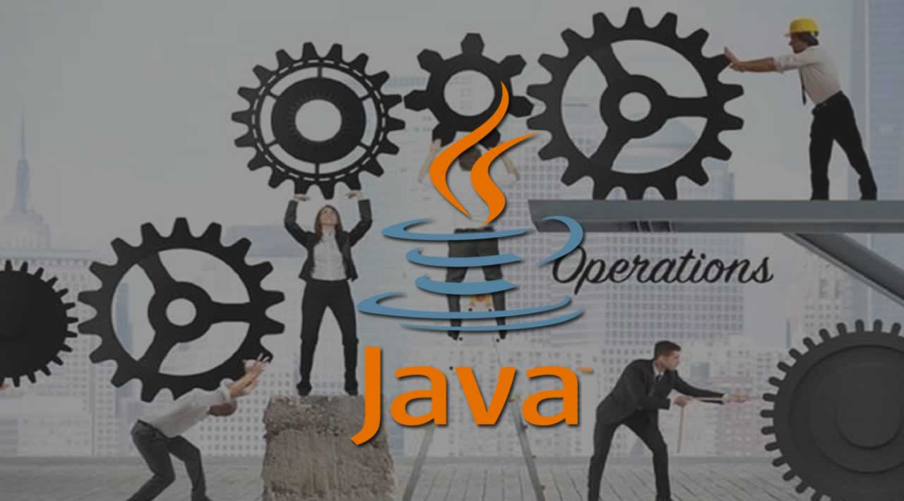 How to set Operations in Java