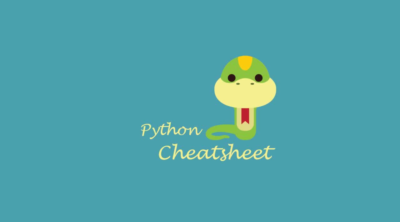 A REAL Python cheat sheet for beginners