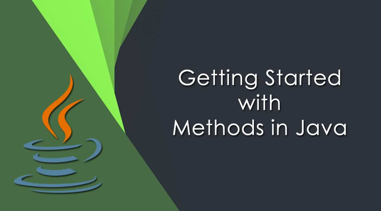 Getting Started with Methods in Java