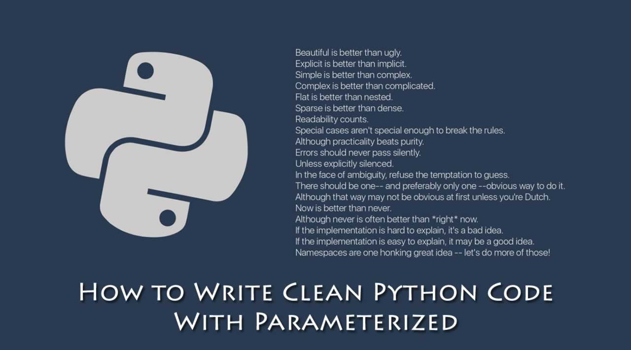 How to Write Clean Python Code With Parameterized