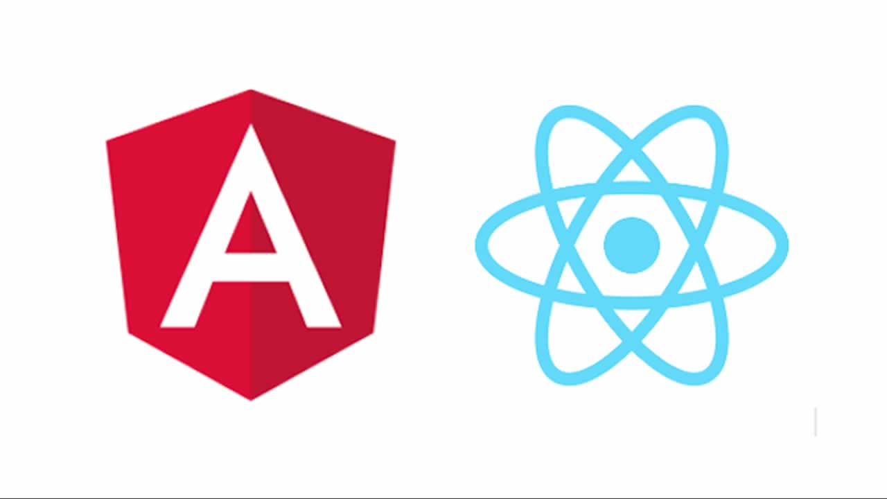 A comparison between Angular and React