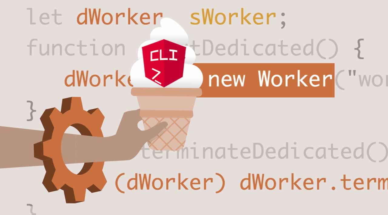 Using Web Workers with Angular CLI