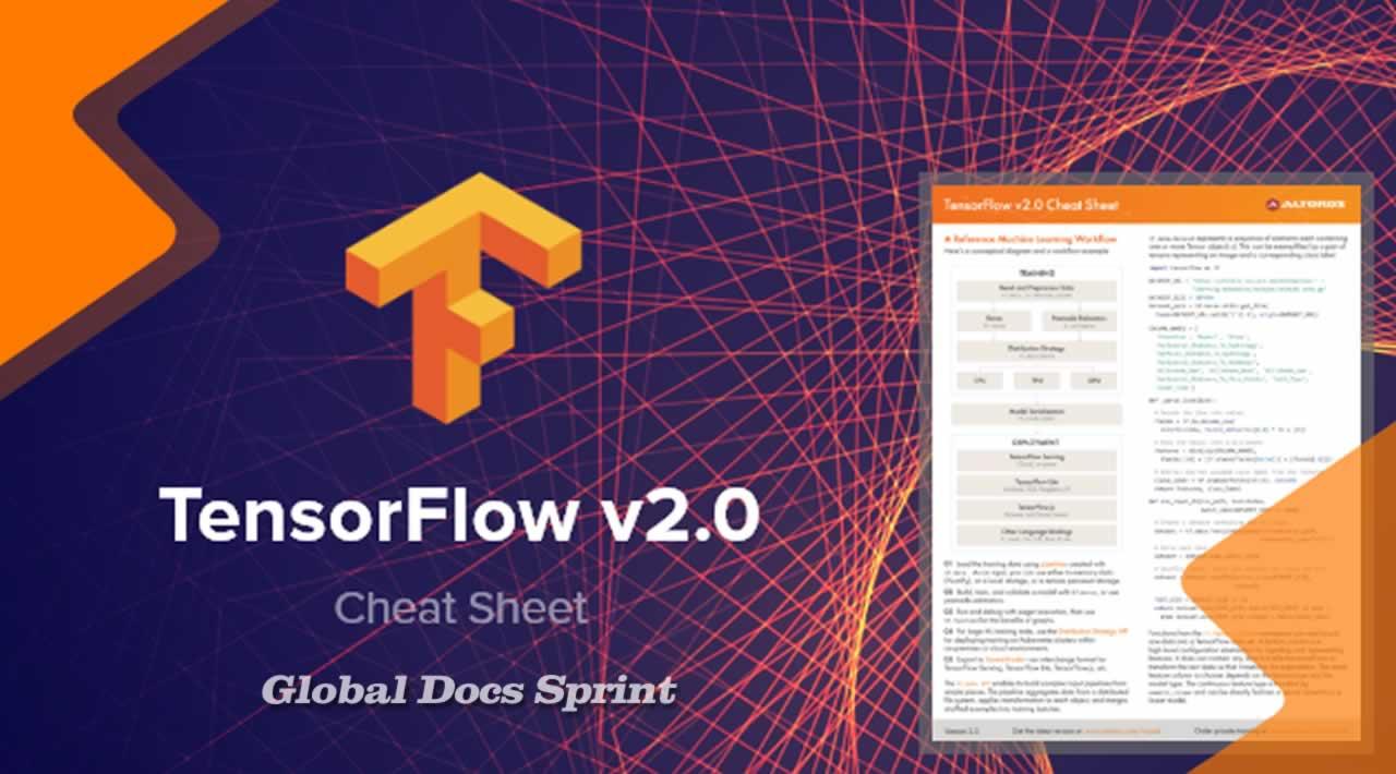 TensorFlow 2.0 Global Docs Sprint Cheatsheet