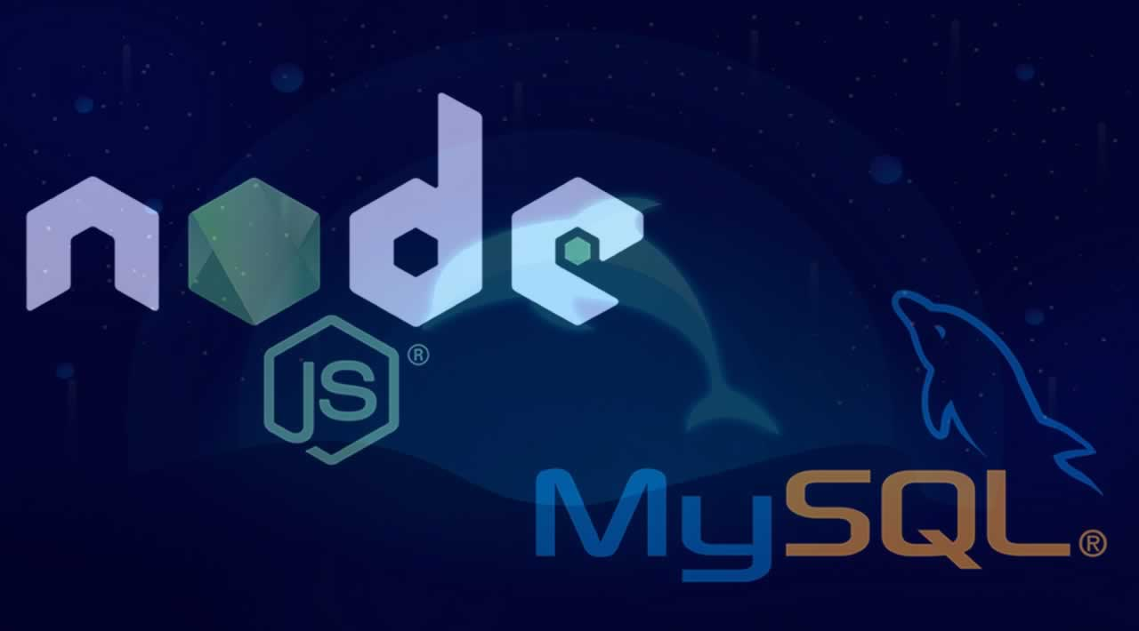 Instructions for connecting Node.js with MySQL