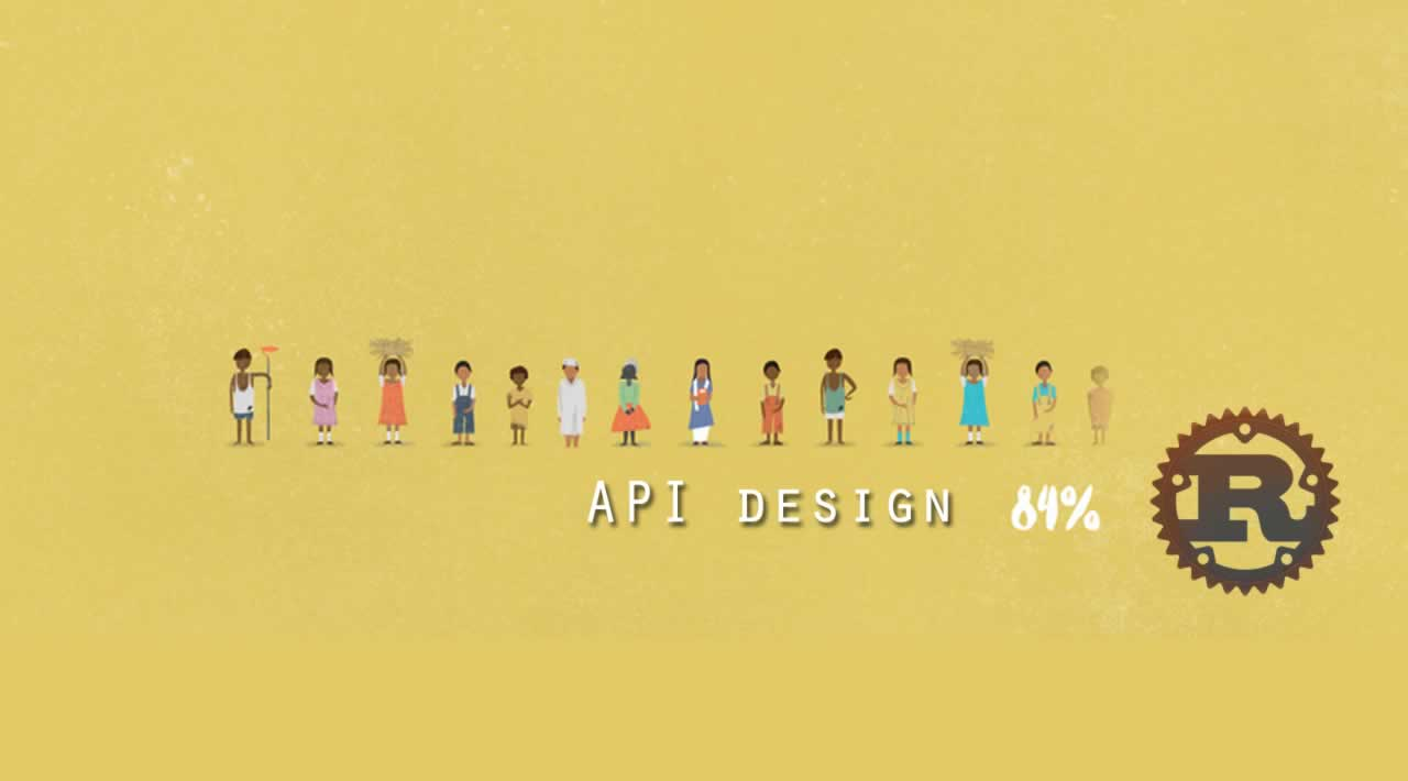 Evolving API design in Rust