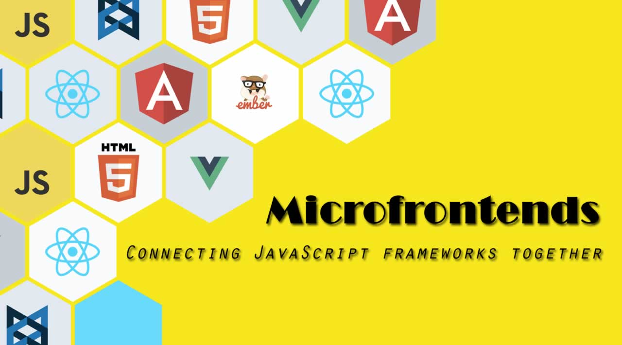 Microfrontends — Connecting JavaScript frameworks together (React, Angular, Vue etc)