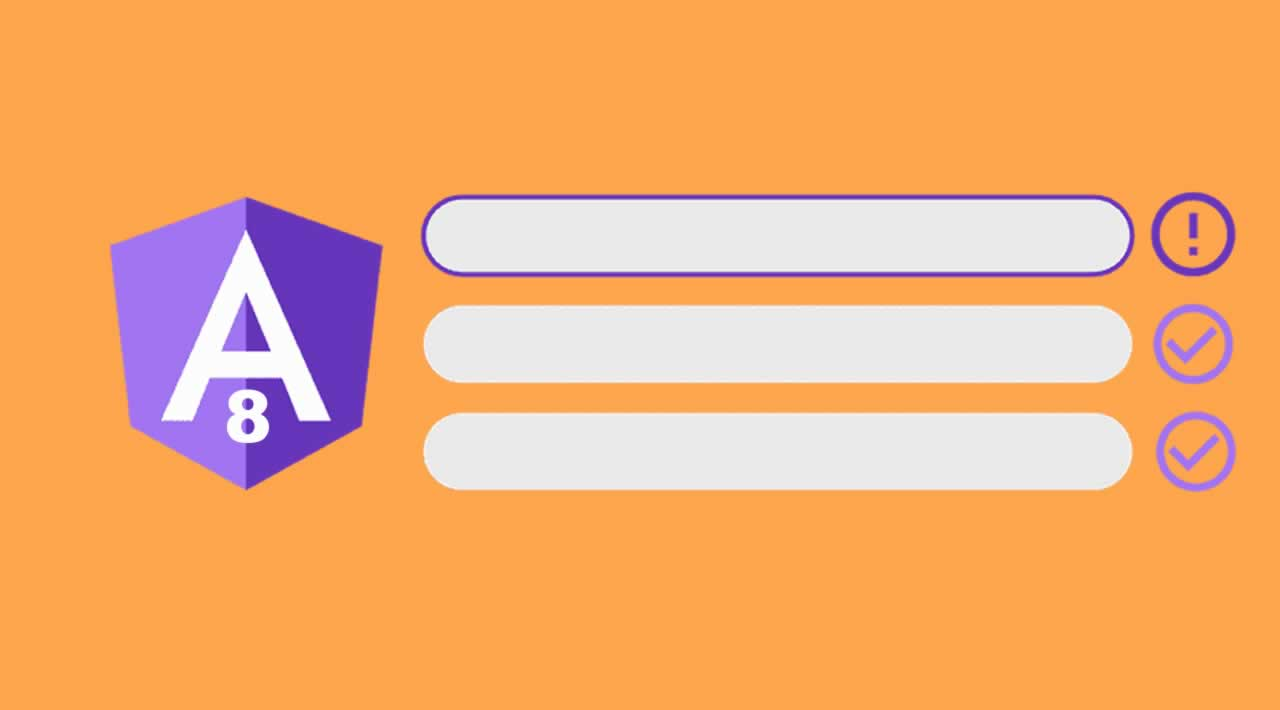 Login & Reactive Form Example with Validation in Angular 8