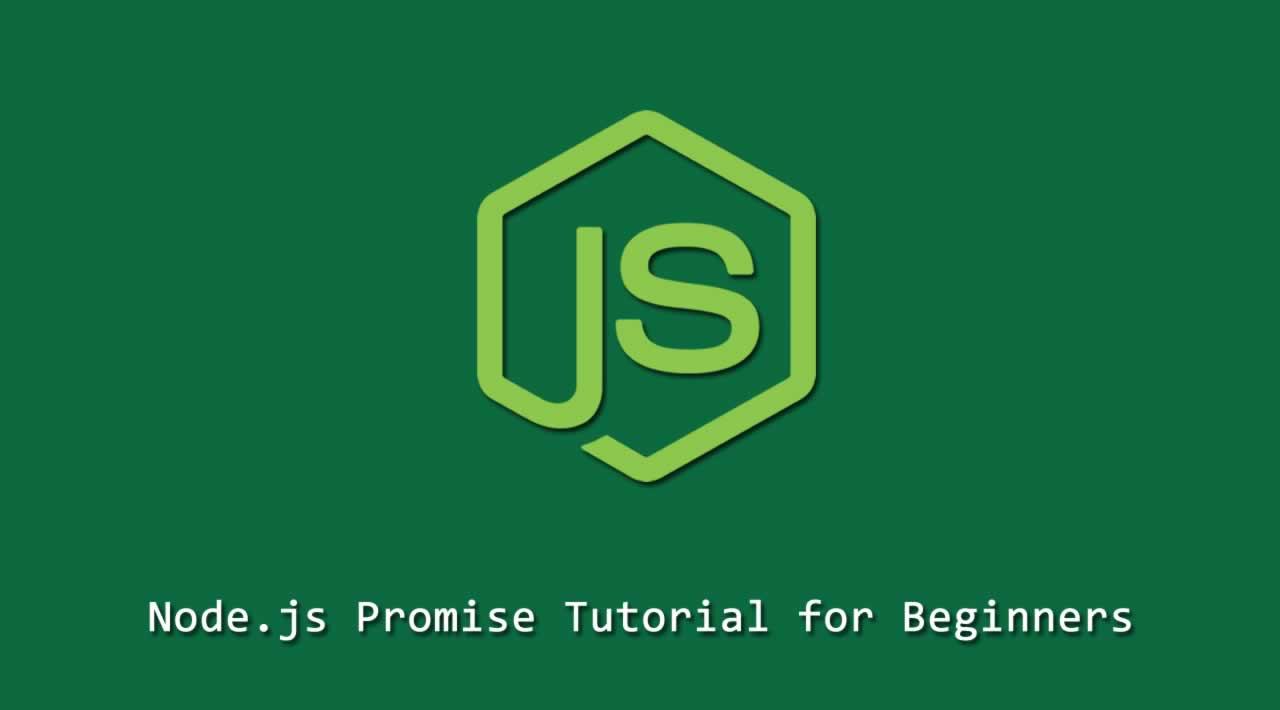 Node.js Promise Tutorial for Beginners