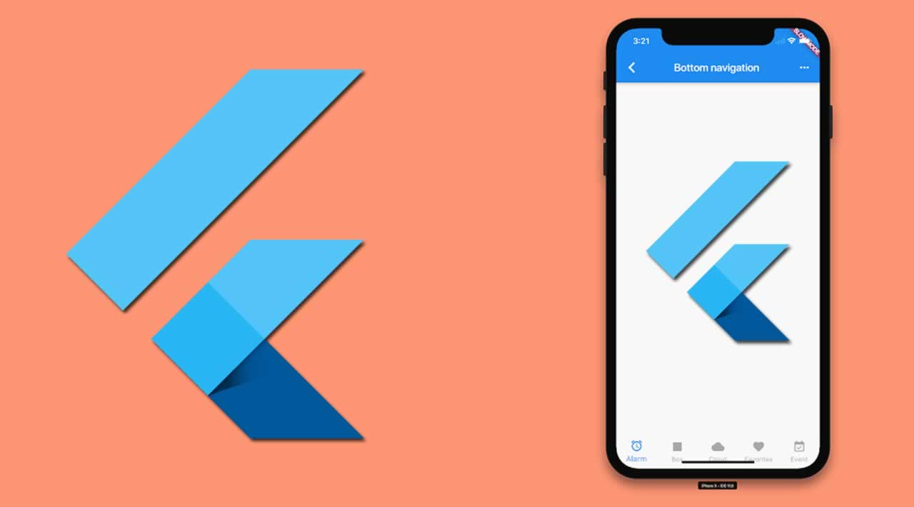 How to create the bottom navigation bar in Flutter