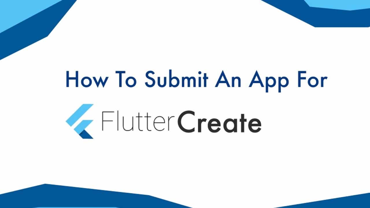 A guide on getting started with Flutter Create 😴