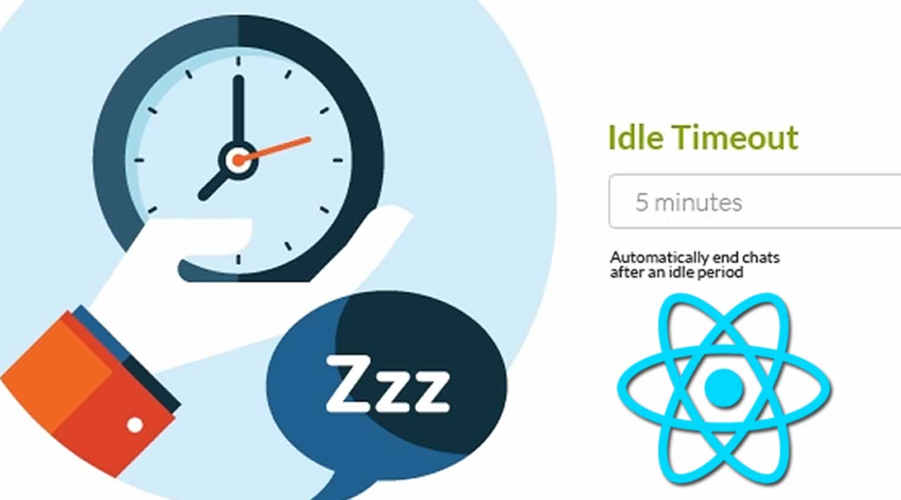 How to use Idle-timeout in React application