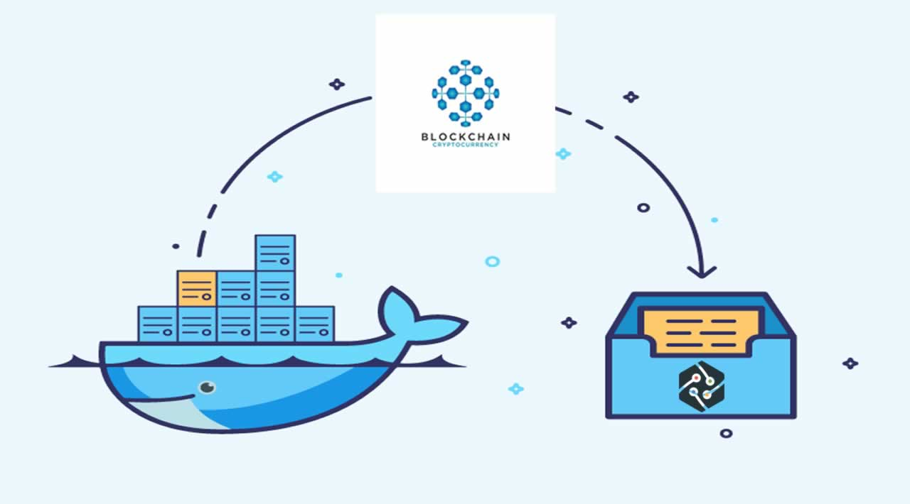 Docker usage in Blockchain project