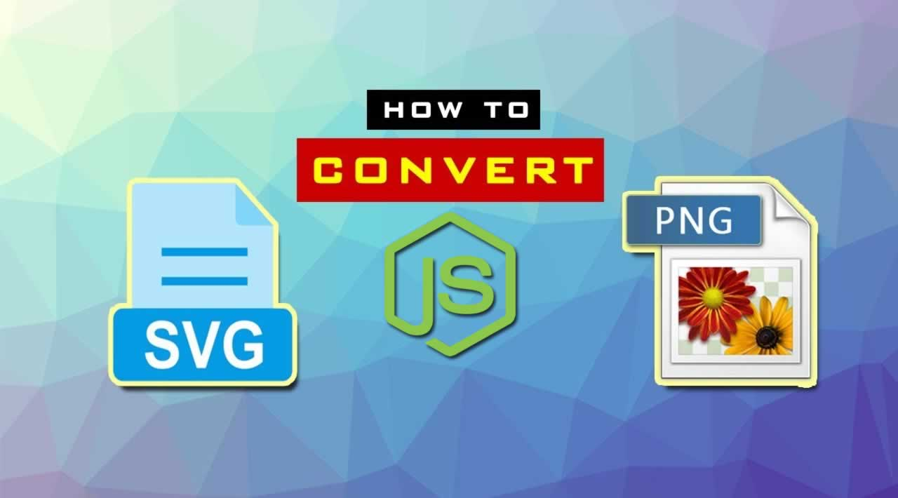 Convert SVG to PNG Using NodeJS & Sharp