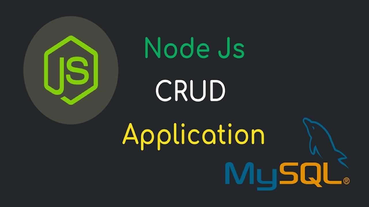 First CRUD Node Express Js Mysql Example