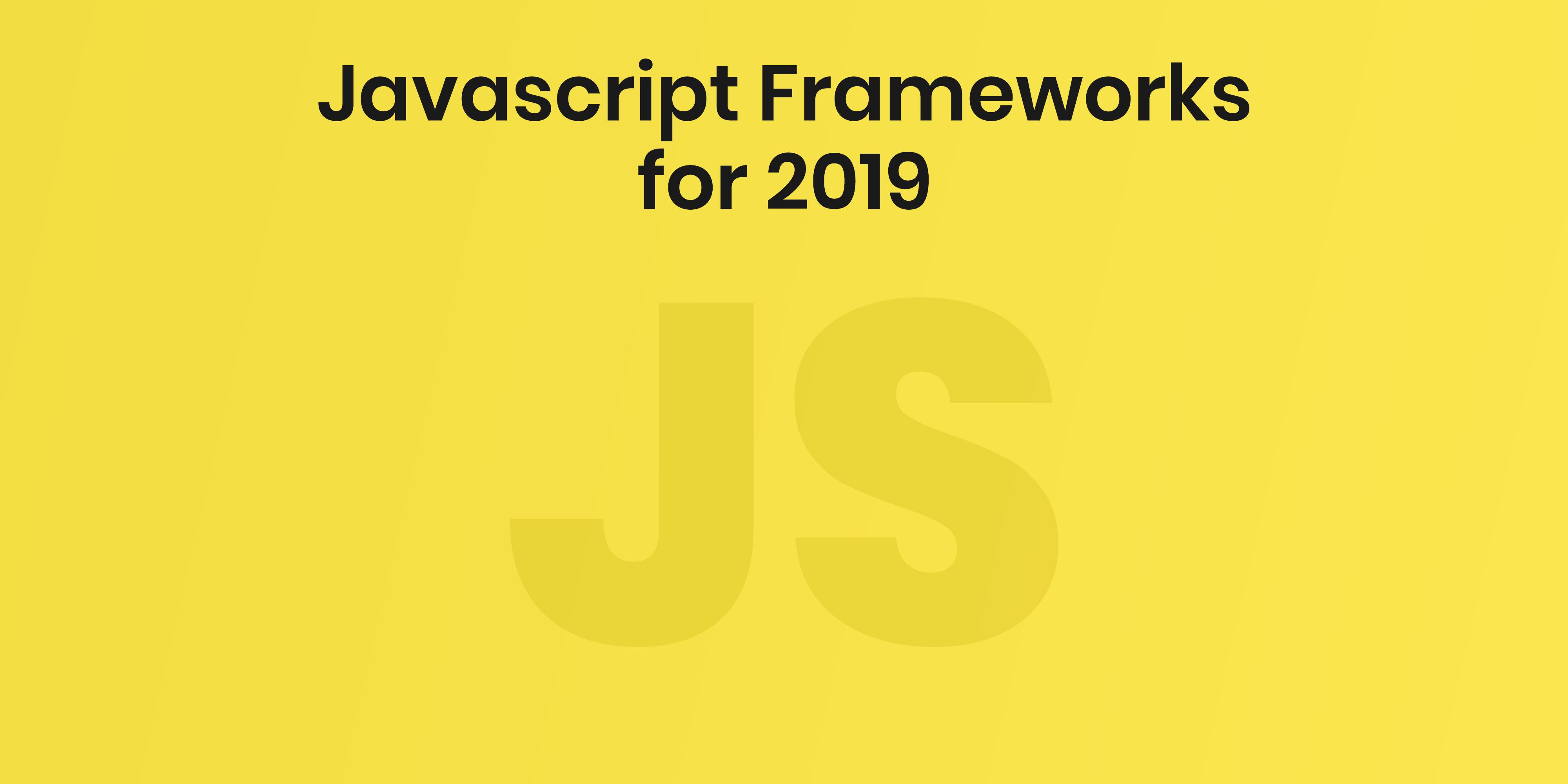 Do we still need JavaScript frameworks?