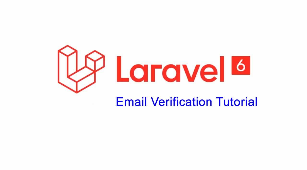 Laravel 6 Email Verification Tutorial