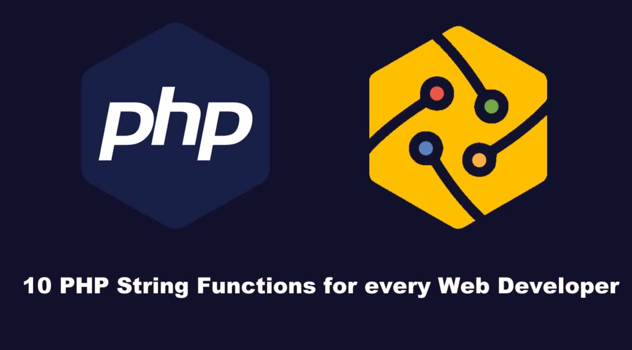 10 PHP String Functions for every Web Developer