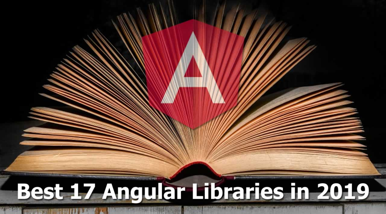 Best 17 Angular Libraries Every Angular Developers Should Know in 2019