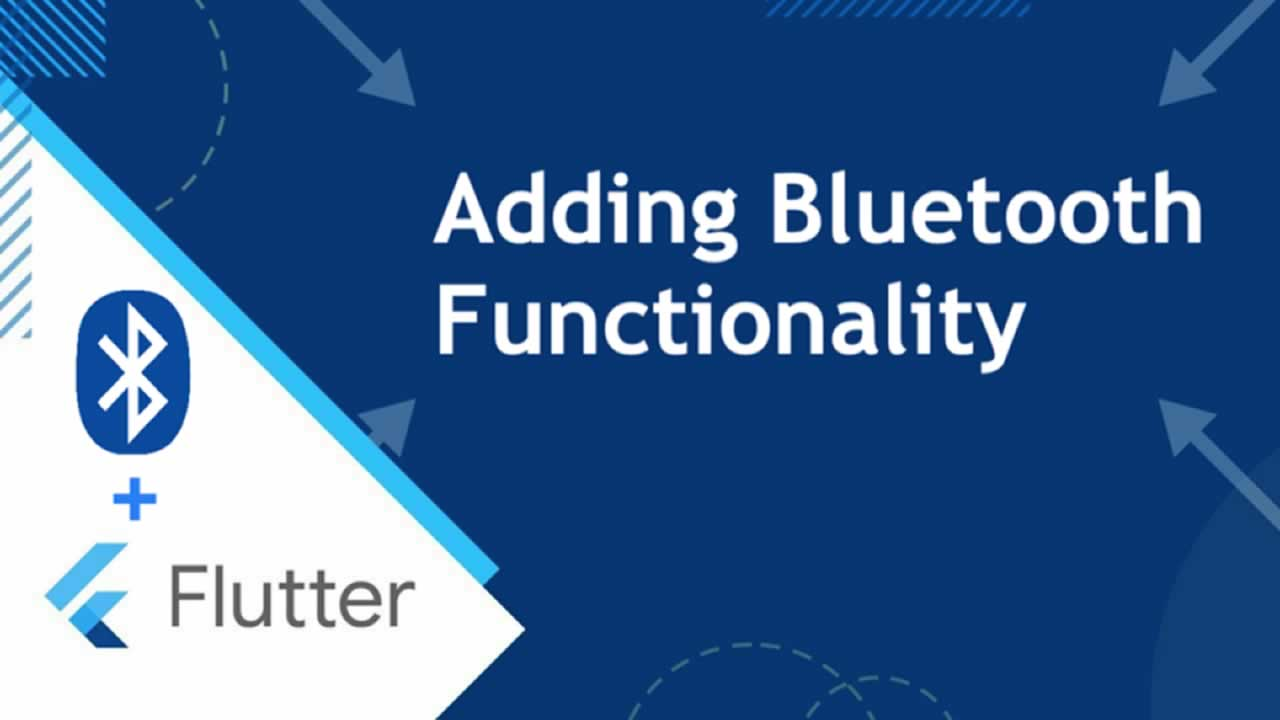 Flutter: Adding Bluetooth Functionality