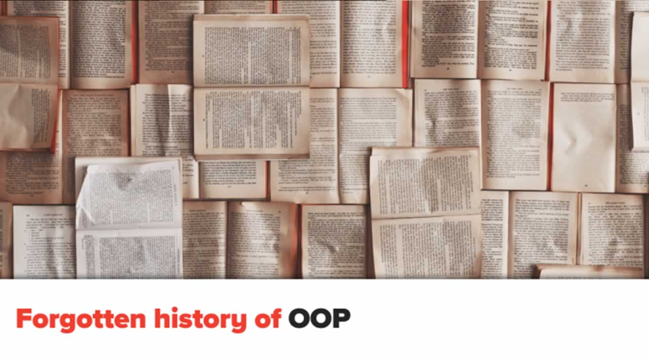 The Forgotten History of OOP