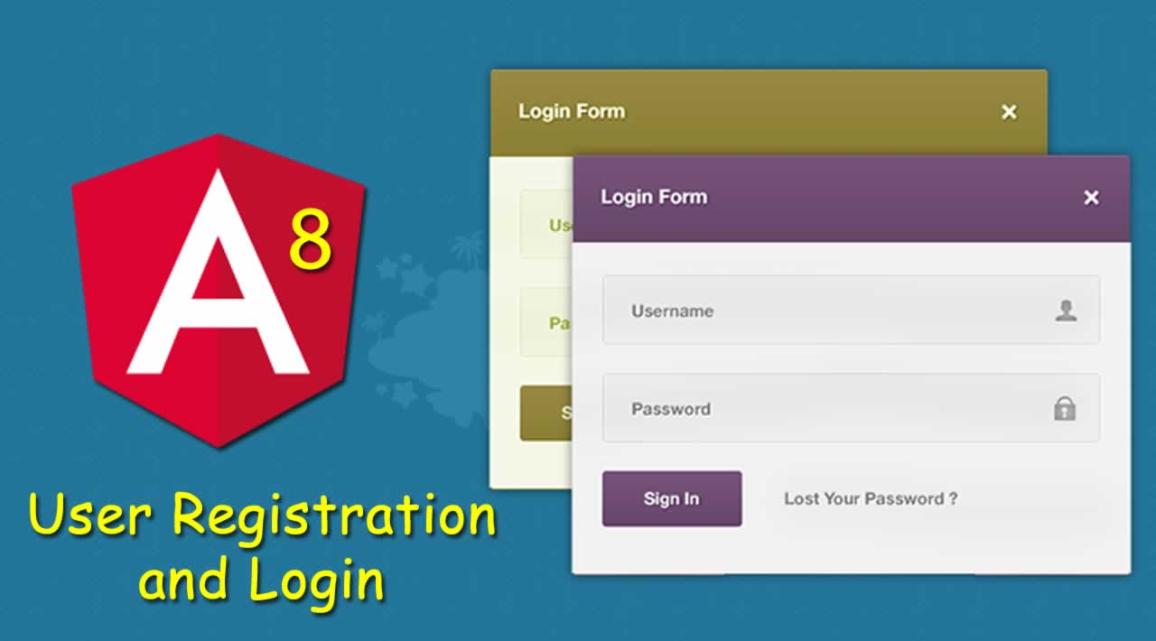 Angular 8 Tutorial - User Registration and Login Example