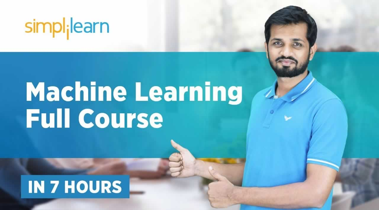 Machine Learning Full Course - Learn Machine Learning